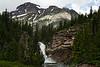 Trick Falls & Rising Wolf Mountain