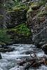 Baring Creek Cascade leaving Sunrift Gorge